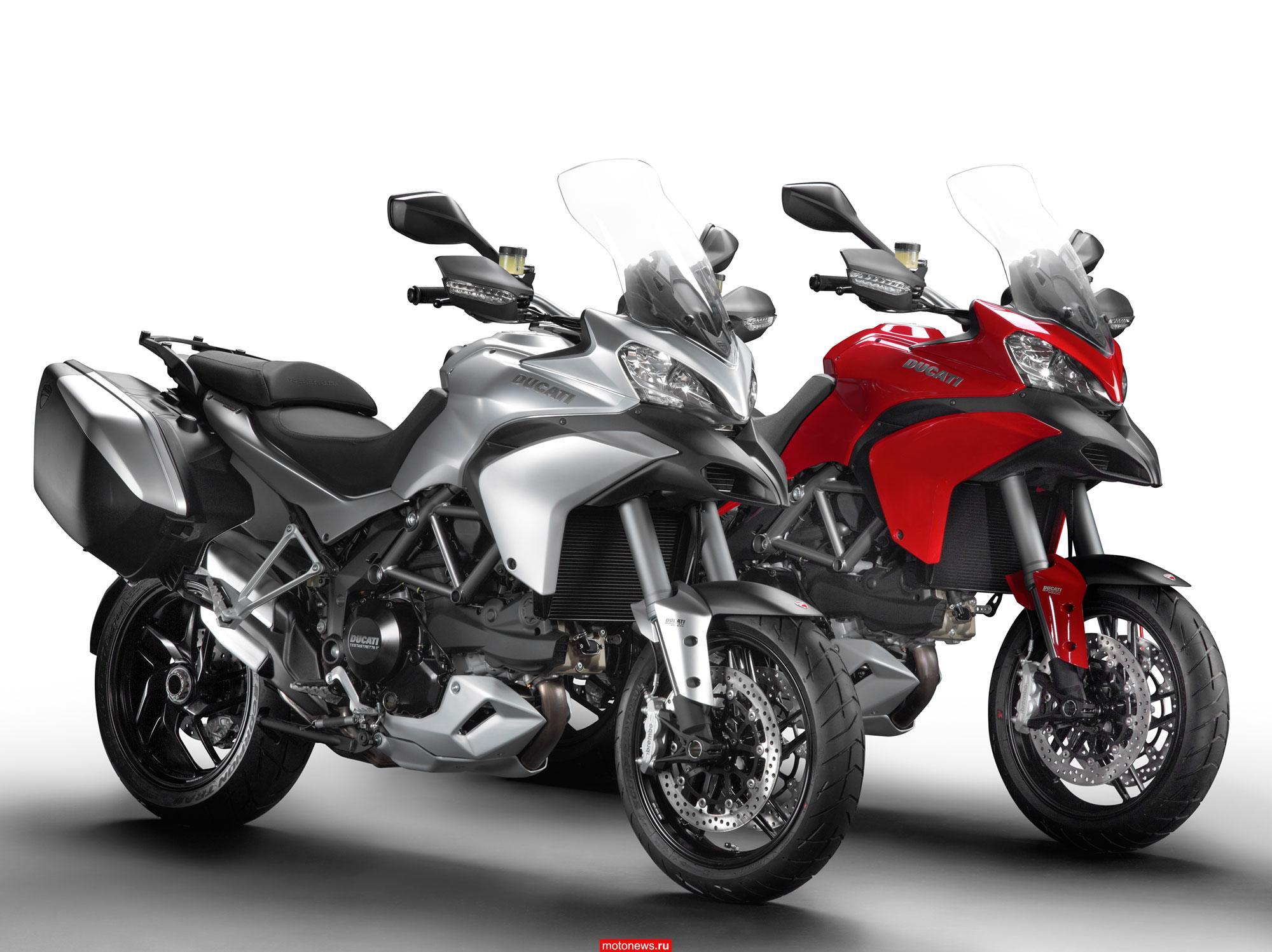 Ducati отзывает партию мотоциклов Multistrada 1200