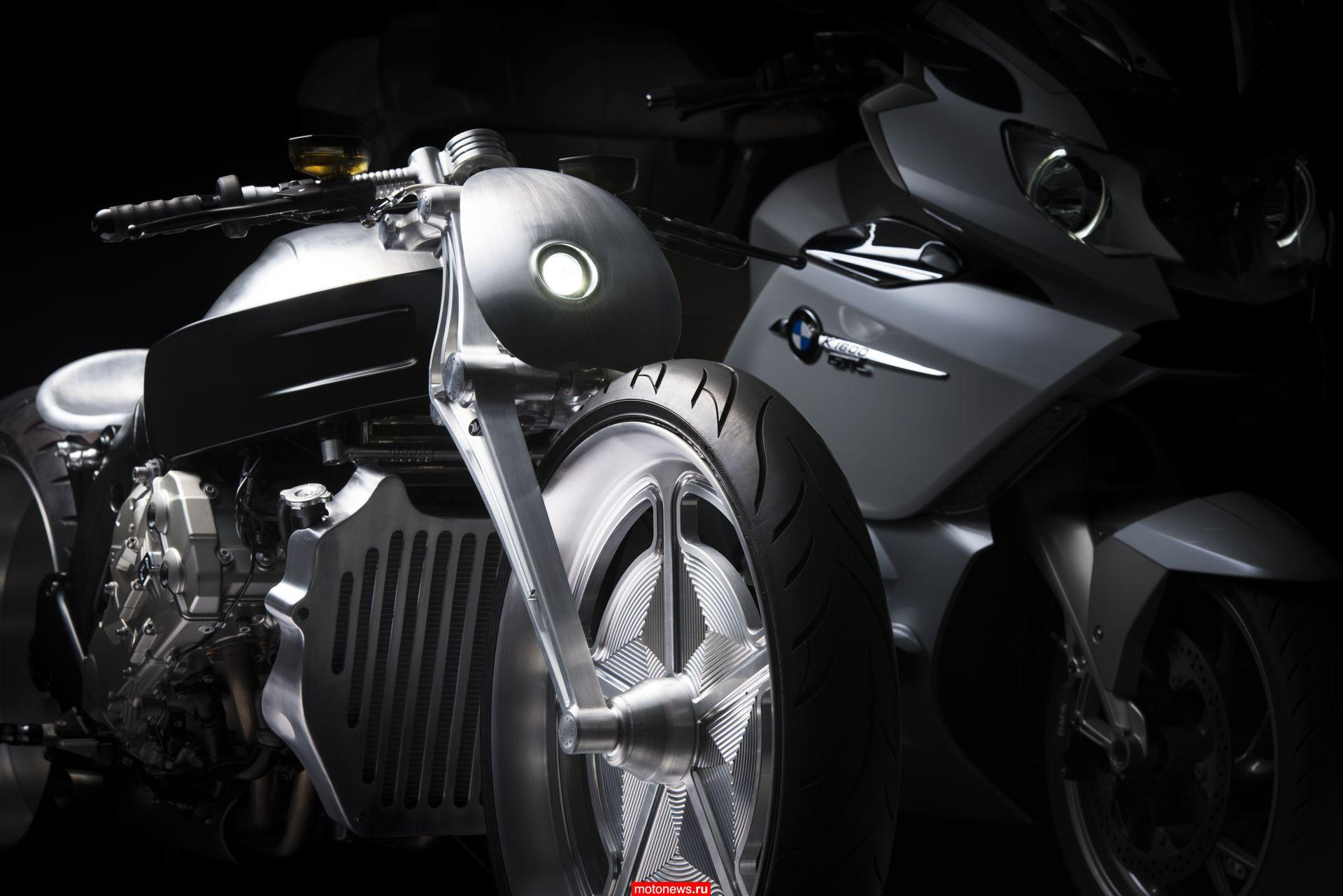 Стильный японский кастом на базе BMW K1600GTL