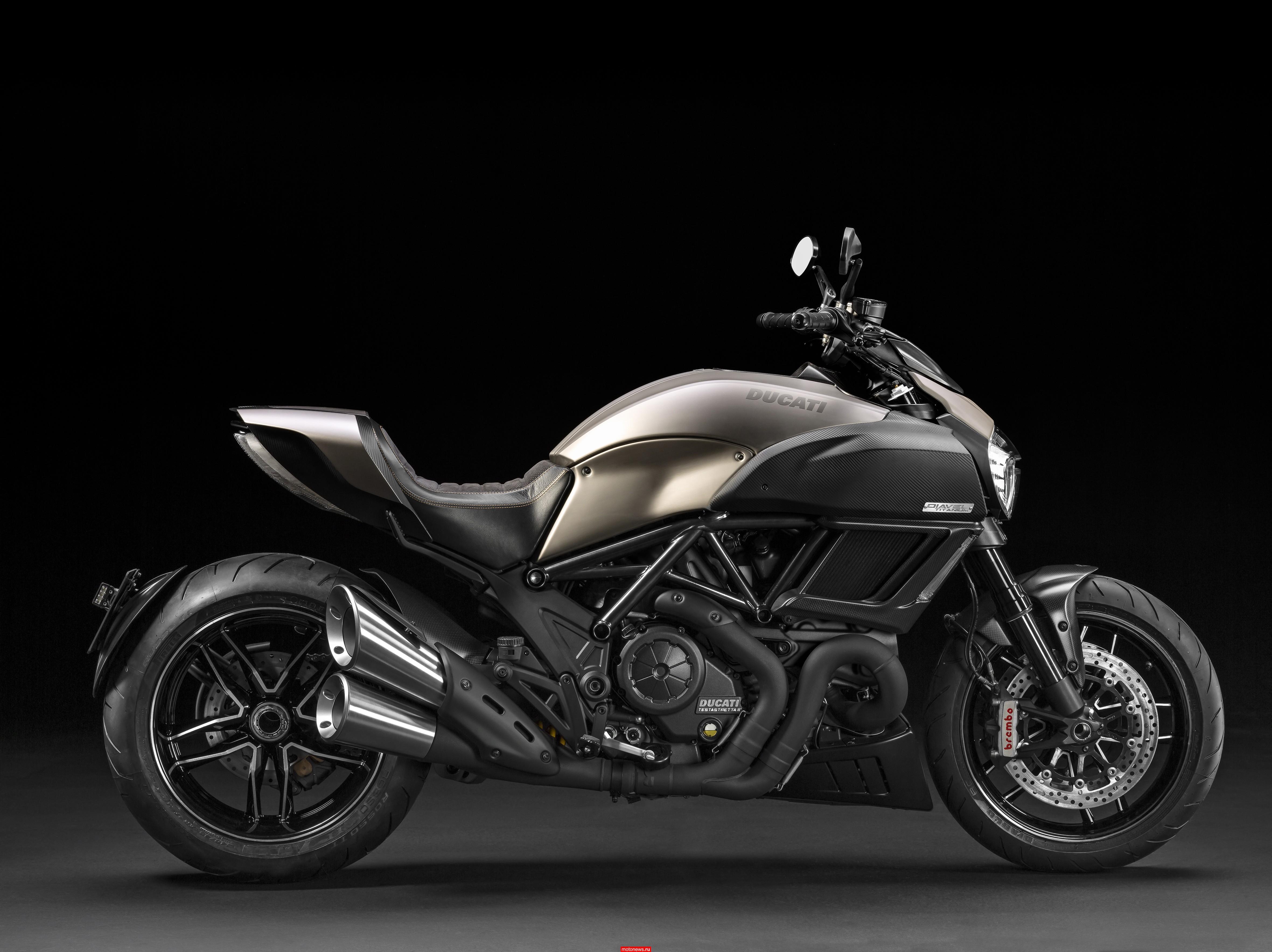 Мотоциклы Ducati Diavel Titanium приходят к дилерам