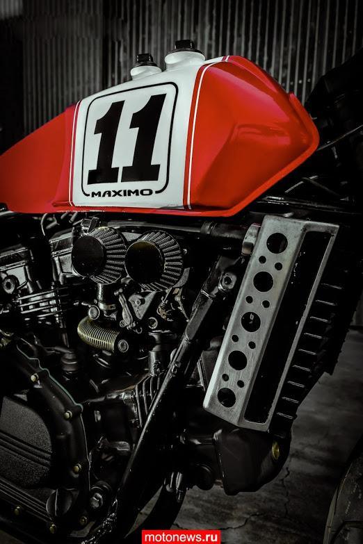 Каферейсер Maximo на базе круизера Honda Sabre