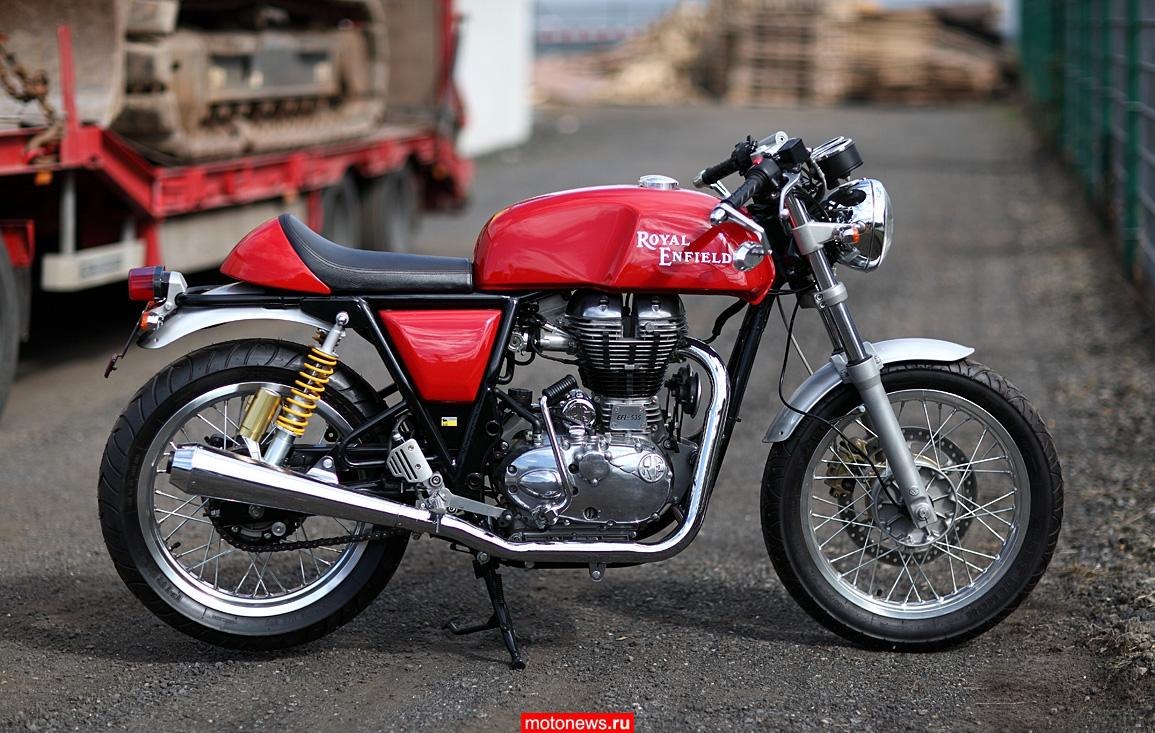 Royal Enfield планирует войти в новый для себя сегмент мотоциклов