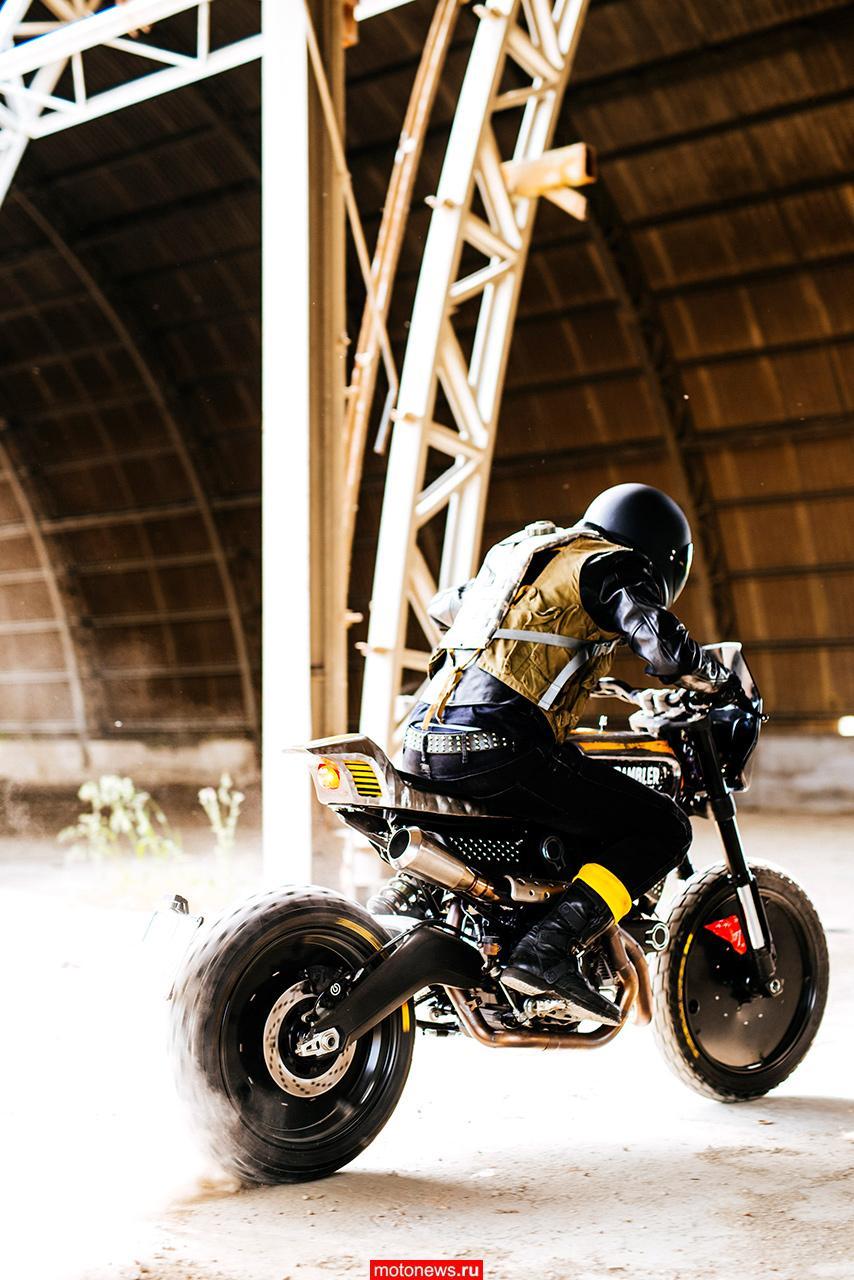 Ducati Scrambler и Pirelli вместе в проекте Vibrazioni Art Design