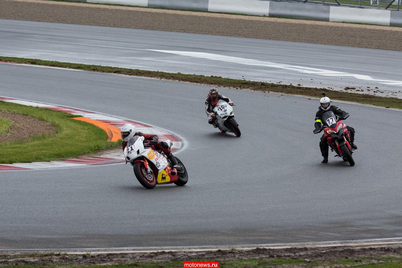 На Moscow Raceway состоялся первый этап кубка Ducati