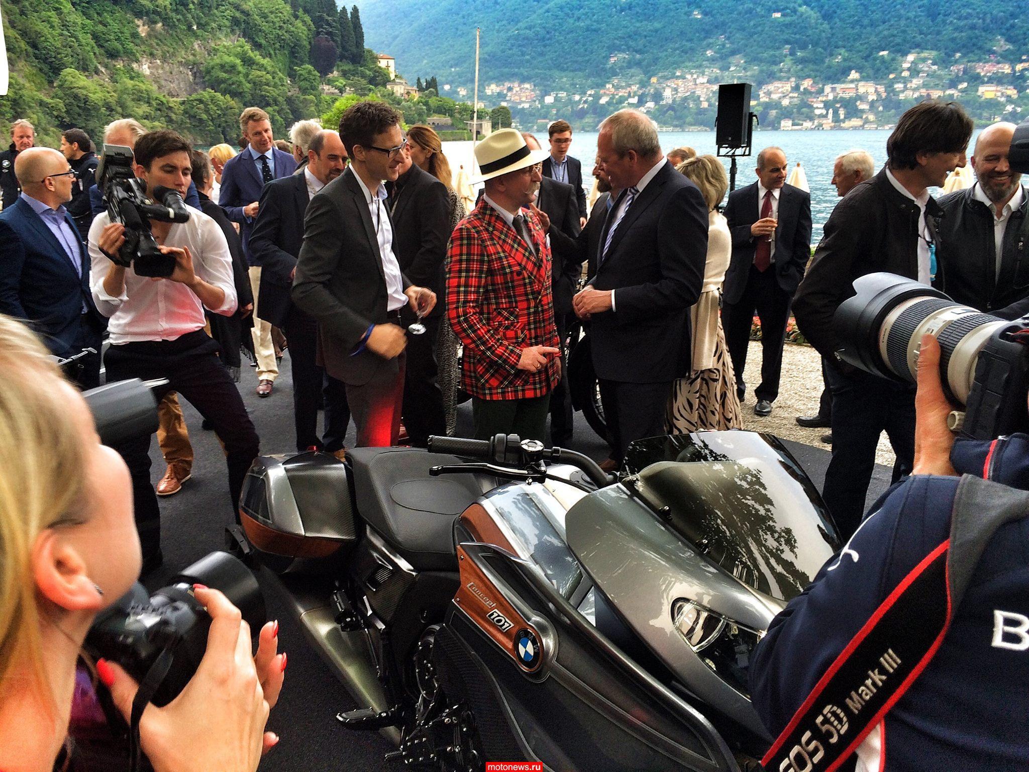 Конкурсный мотоцикл Concept 101 от BMW