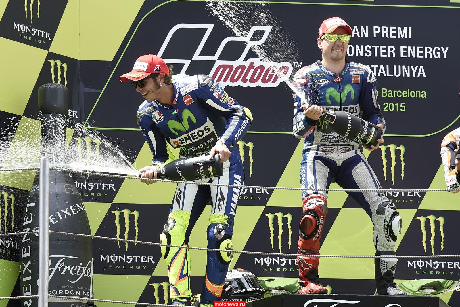 MotoGP: Гонка в Каталонии – победитель - Лоренсо