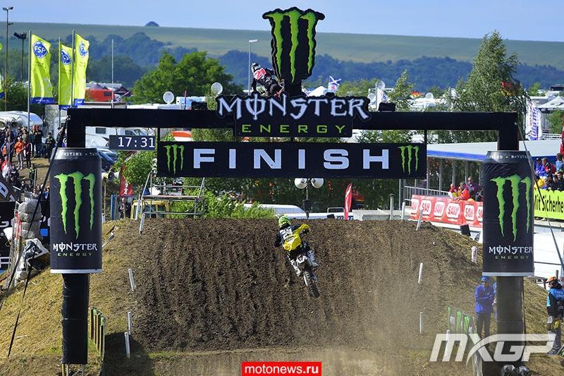 MXGP: Результаты этапа в Тойчентале, у Бобрышева снова подиум