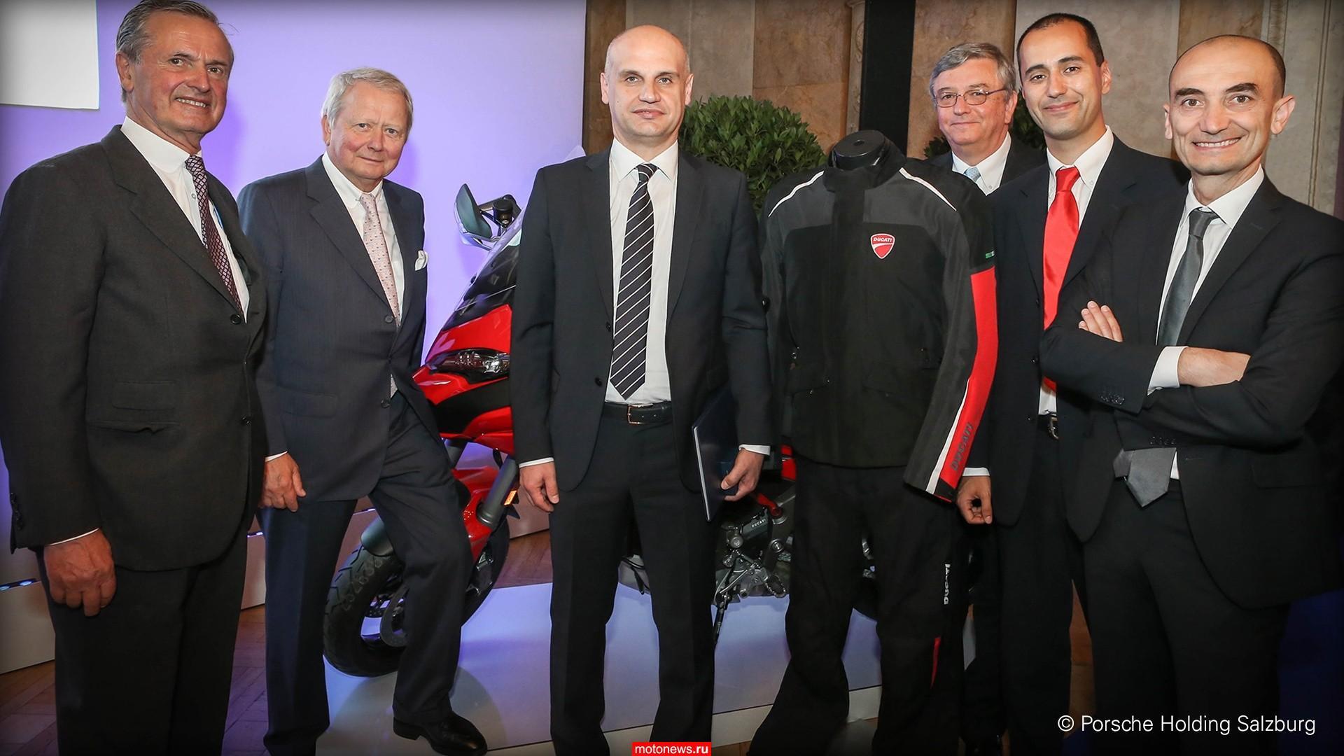Ducati Multistrada завоевал престижную награду в Австрии