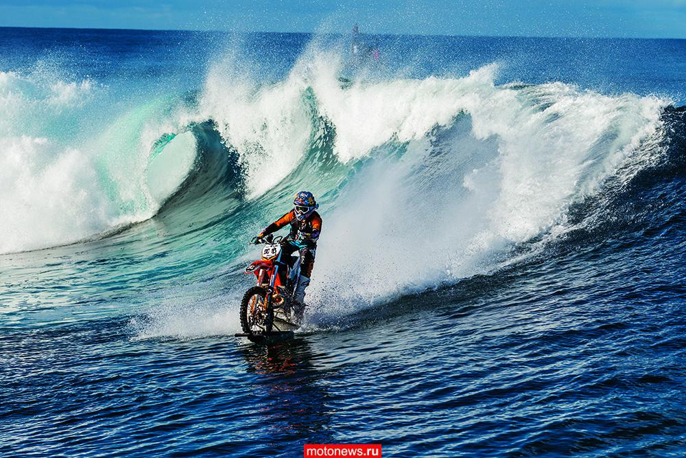 На мотоцикле по воде