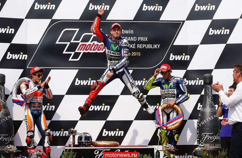 MotoGP: Что думают пилоты о гонке в Брно