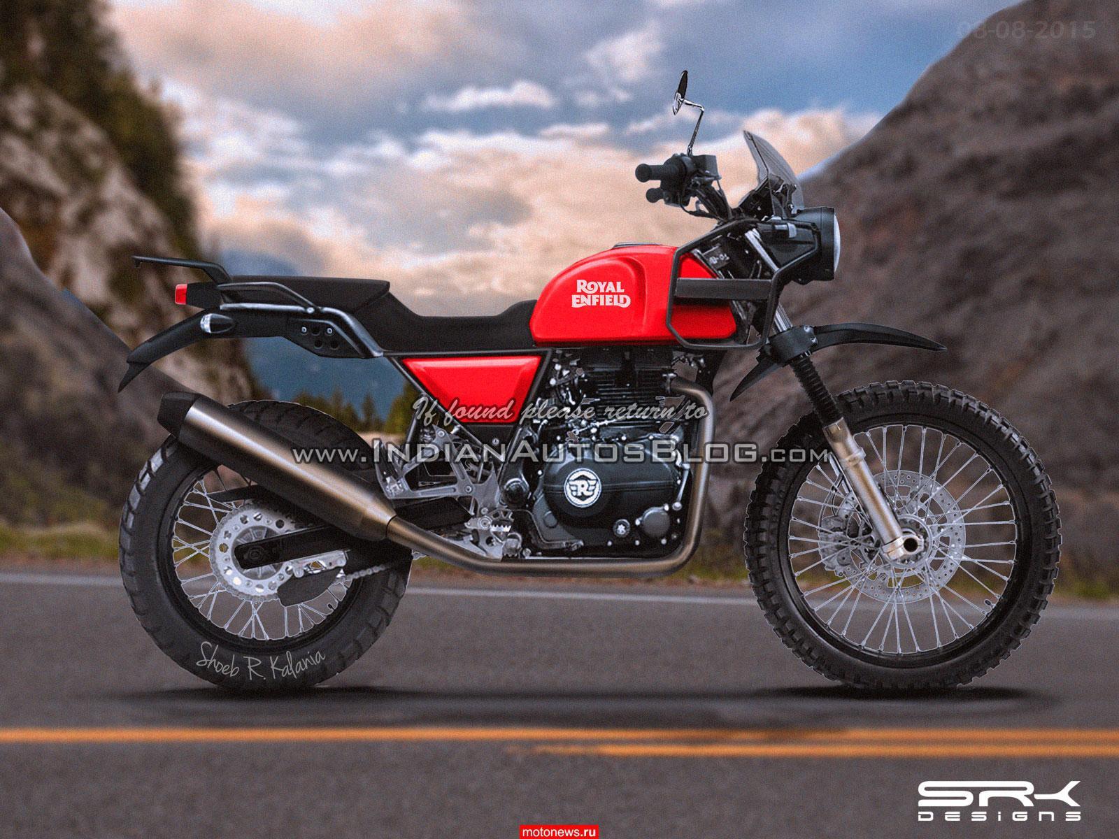 Стала известна дата выхода мотоцикла Royal Enfield Himalayan
