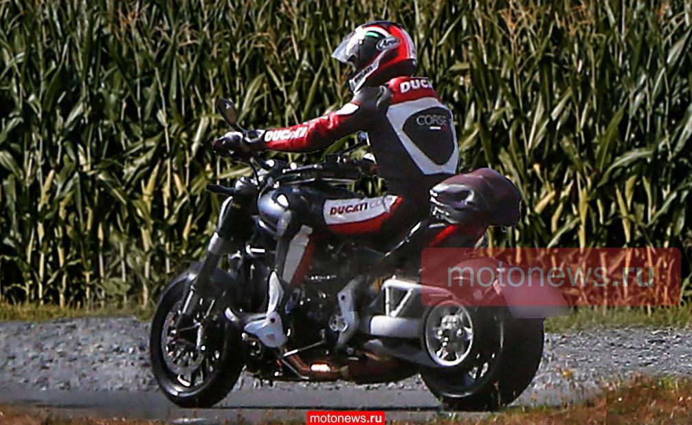 "Ducati готовит к выпуску Diavel ""на ремне""?"