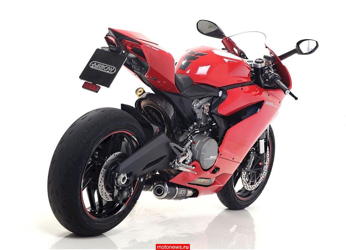 Глушители от Arrow для Ducati 899 и 1199 Panigale
