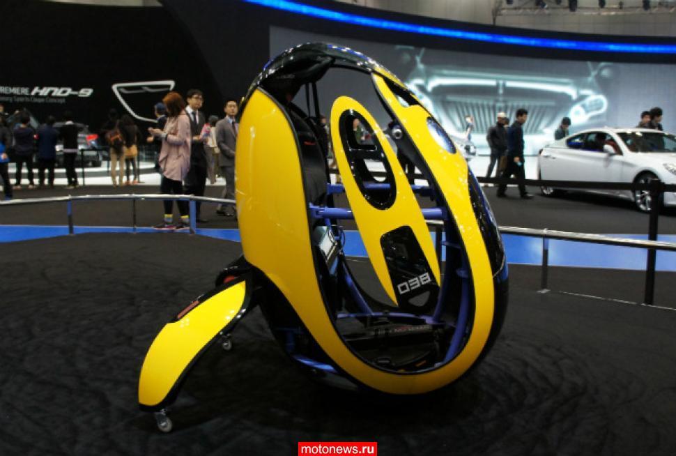 Оригинальный аппарат-яйцо от Hyundai