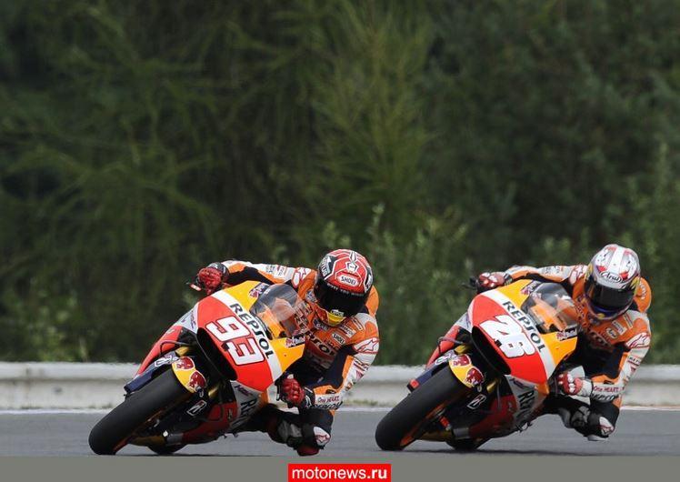 MotoGP: Поул в Сильверстоуне завоевал Маркес