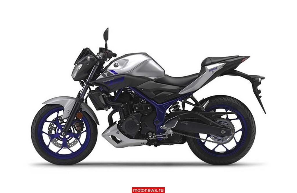 Yamaha подтвердила выпуск мотоцикла MT-03
