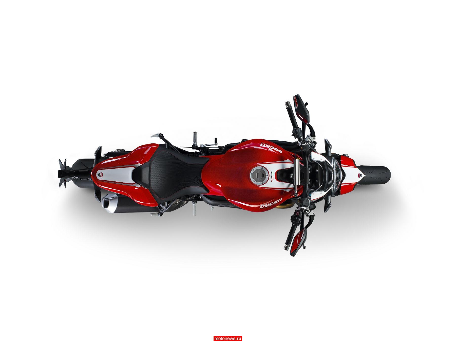 Представлен самый мощный нейкид Ducati