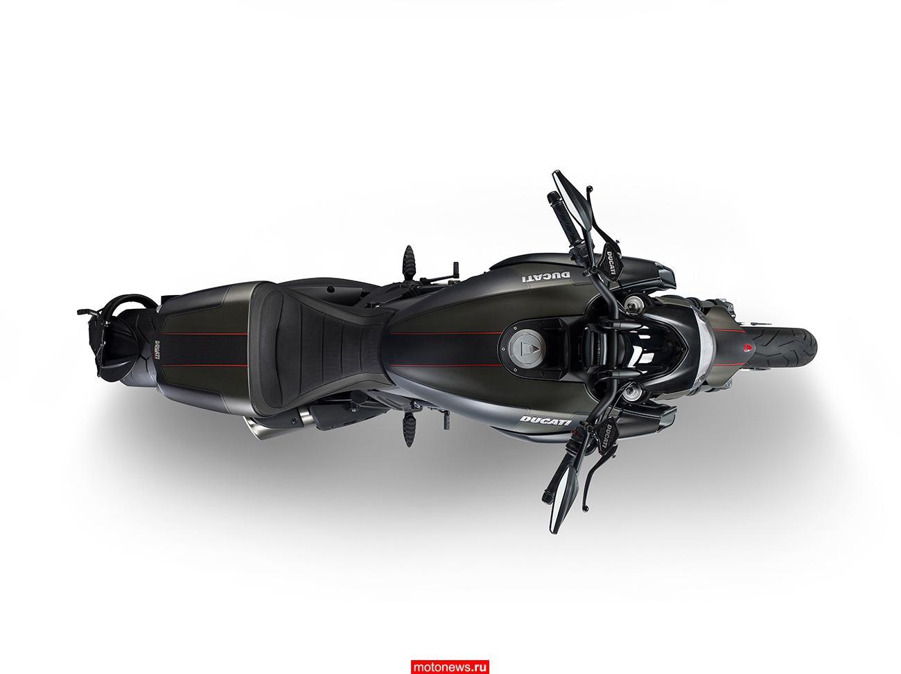 В Ducati обновили мотоцикл Diavel Carbon 2016
