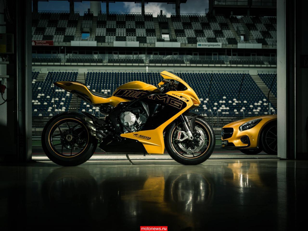 Уникальный мотоцикл от Mercedes-AMG и MV Agusta