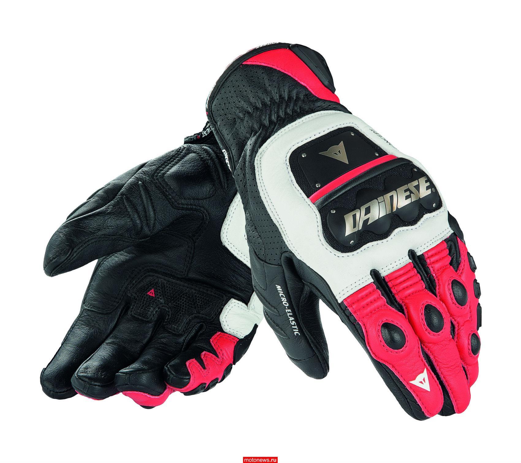 Новые перчатки 4 Stroke Evo от Dainese