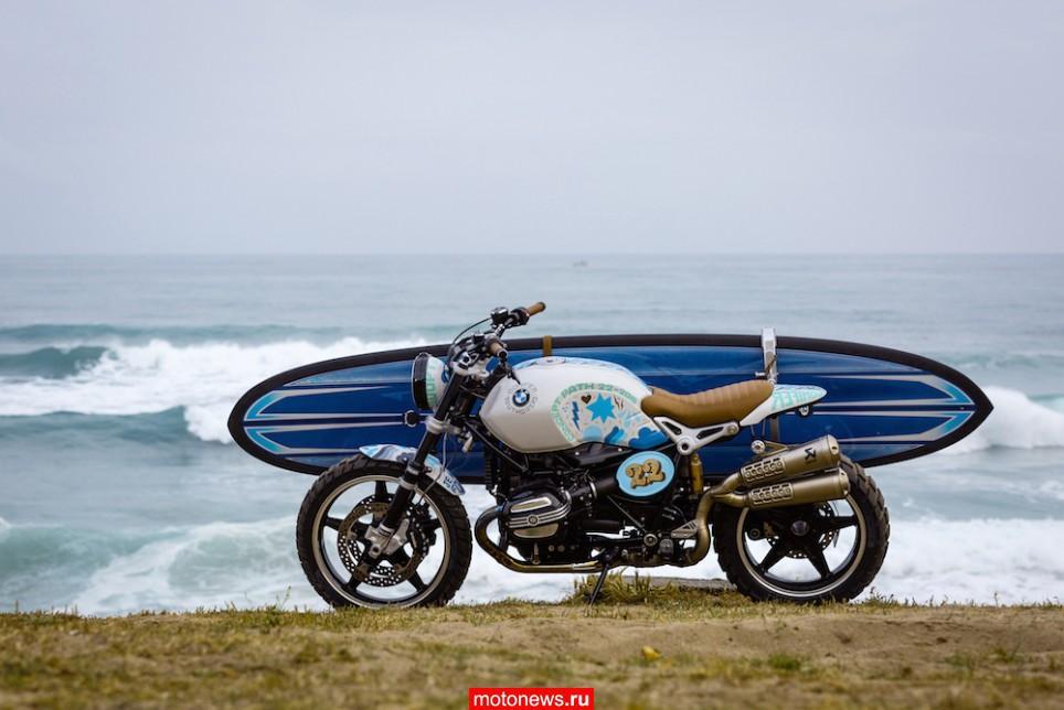 BMW показал во Франкфурте мотоцикл для серфингистов