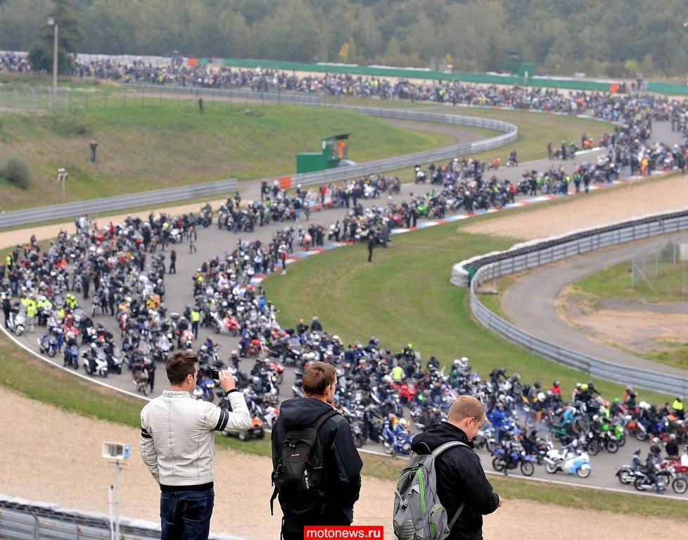 В Брно собрались 3,5 тысячи мотоциклистов