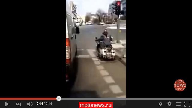 Велосипед, притворяющийся мотоциклом Harley