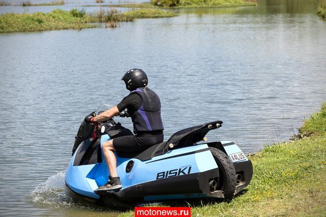 Gibbs представила мотоцикл-амфибию