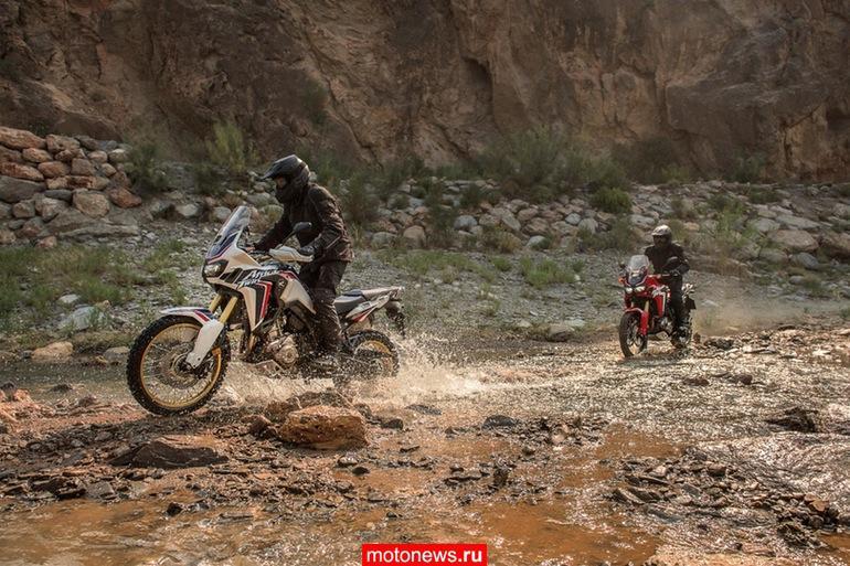 Honda представила новую реинкарнацию мотоцикла Africa Twin