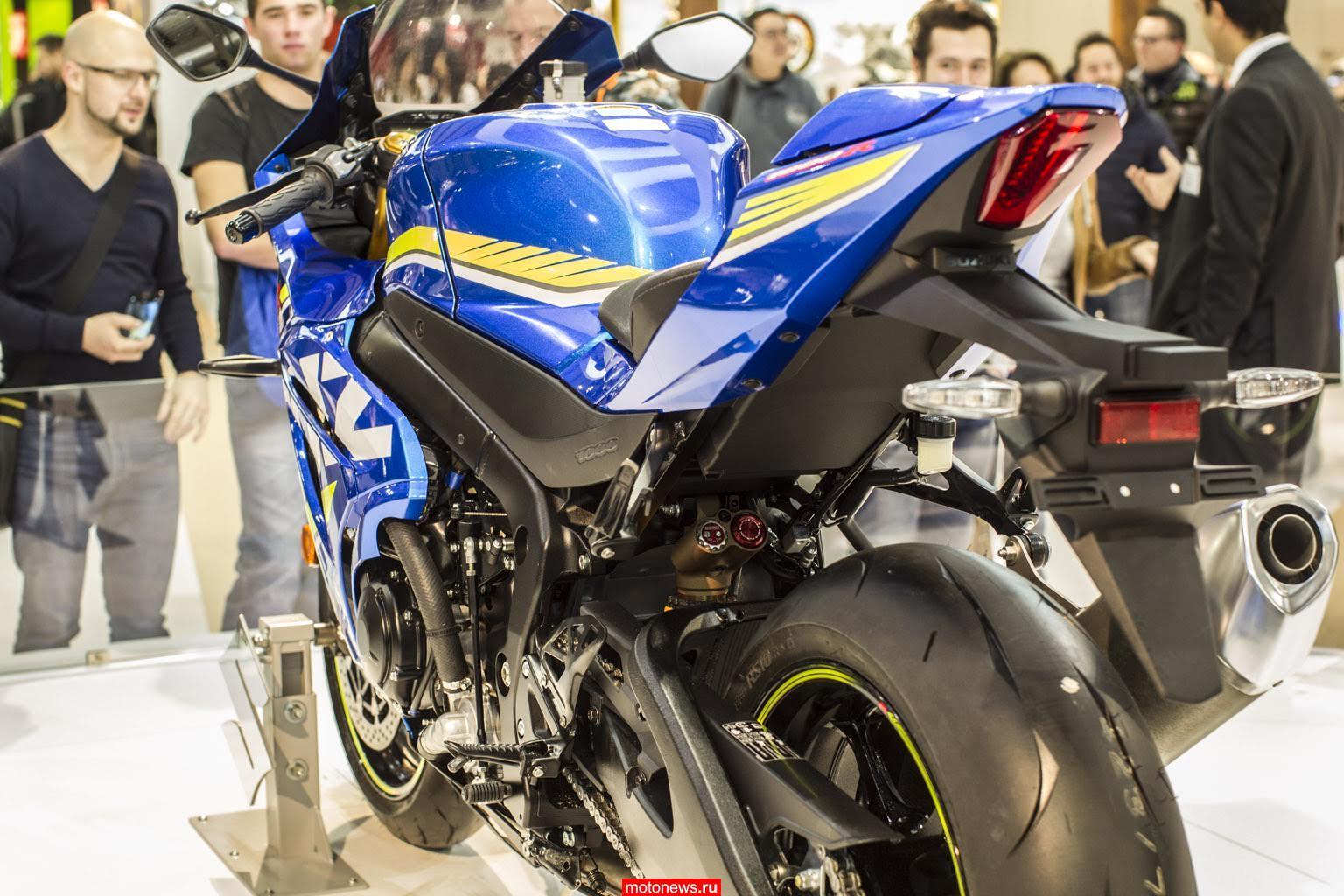 Новинки от Suzuki на выставке EICMA-2015