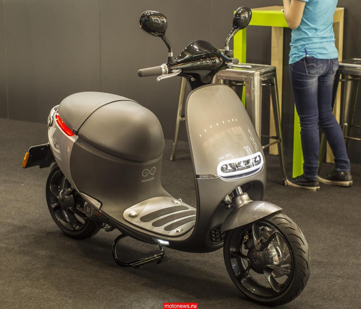 Скутер Gogoro из Таиланда – на выставке EICMA-2015