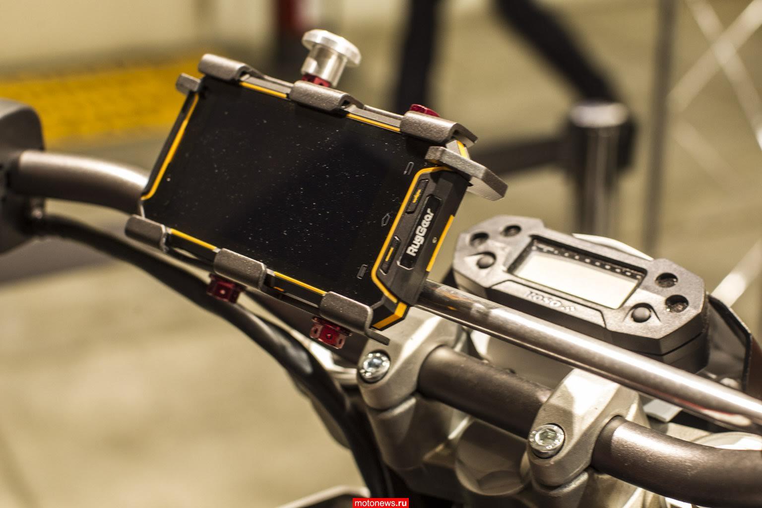 Новый мотоциклетный бренд Armotia на выставке EICMA-2015
