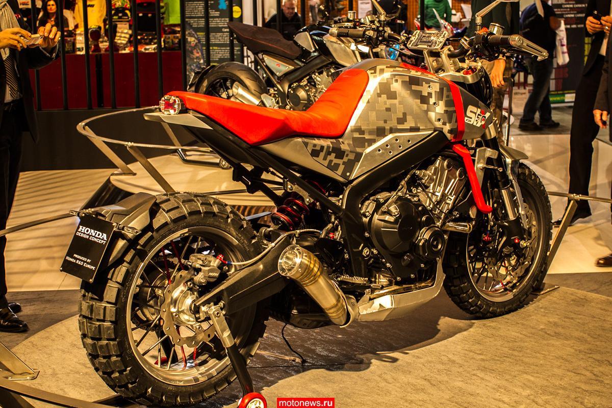 Мотоциклы-концепты Honda на выставке EICMA-2015