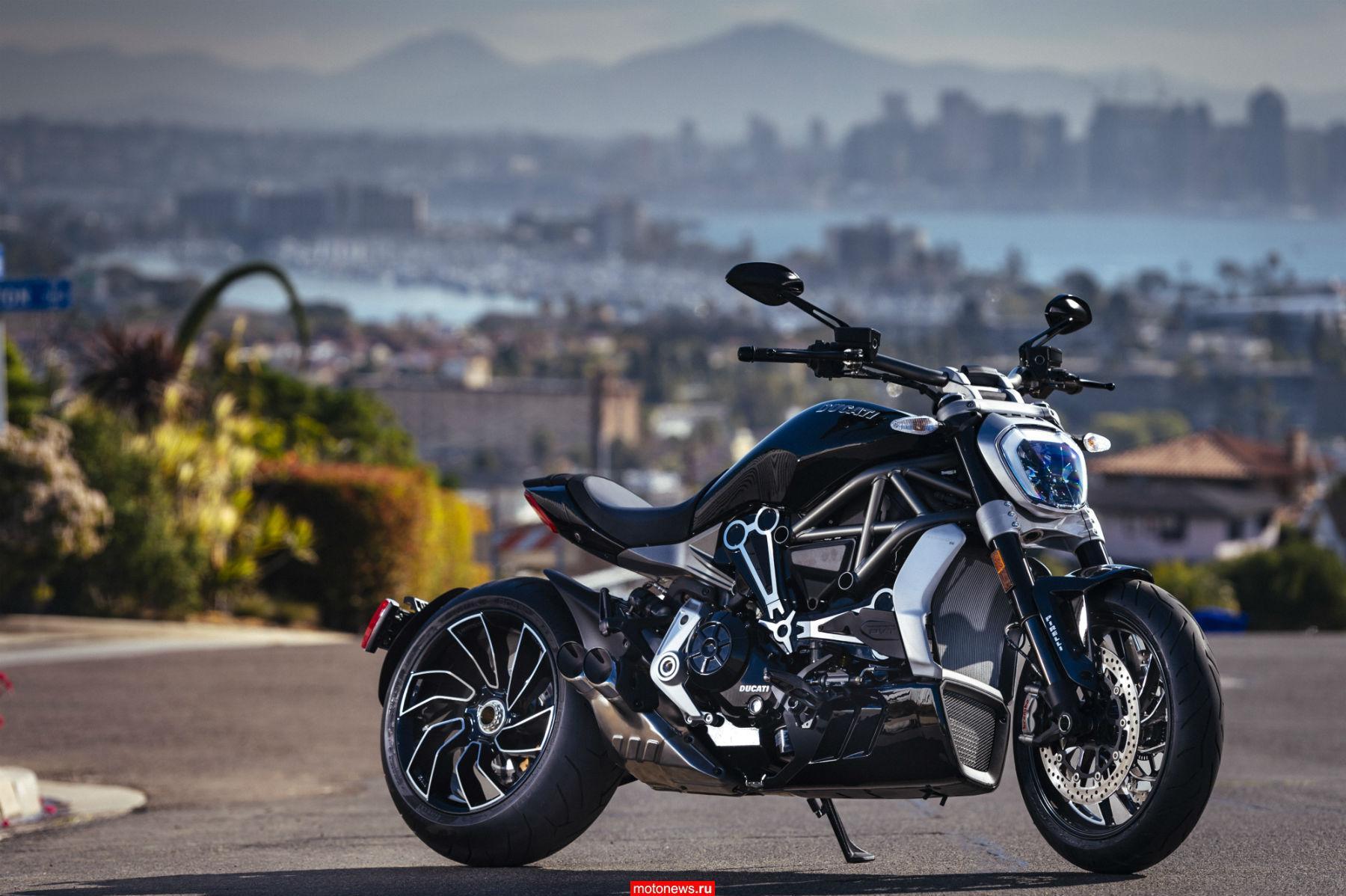 Ducati за2016 год удалось достигнуть рекордных продаж