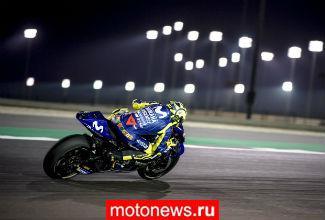 Первую гонку сезона в MotoGP выиграл Довизиозо на Ducati, Росси на Yamaha - третий