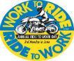На работу на мотоцикле - сегодня очередной Ride-to-work Day