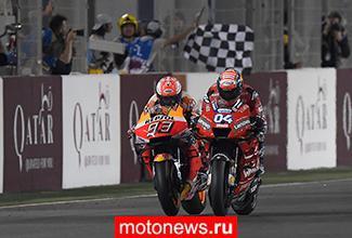Первую гонку сезона MotoGP 2019 выиграл пилот Ducati