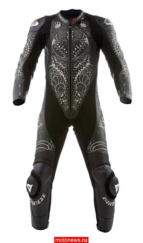 Итальянская Dainese представляет новый костюм Tattoo Ykz на сезон 2009 года.