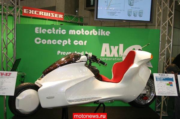 Мотоцикл на магнитном двигателе япония купить фото 124-694