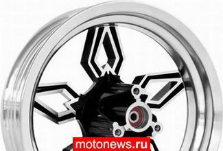Крутые колеса для маленького скутера
