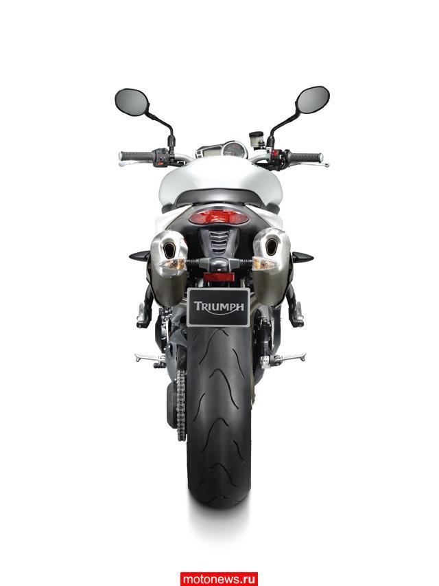 Intermot-2010: Triumph наконец презентовал Speed Triple 2011