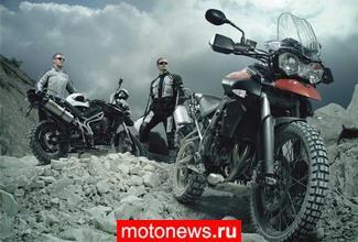 Официальное фото нового Triumph Tiger XC 2011