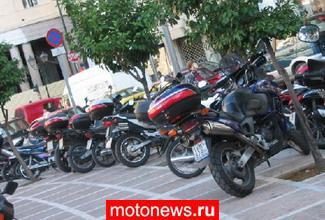 Продажи мотоциклов в Европе упали на треть