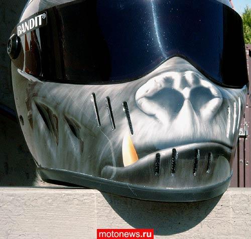 Стоимость работ разная, аэрография шлемов - от $250 до $360, в зависимости от...