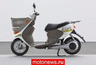 Suzuki разрабатывает электроскутер e-Let's