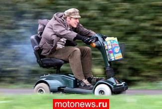 Очень быстрый скутер от Колина Ферза