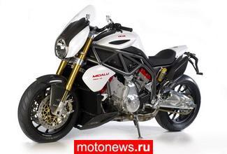 Мотоцикл FGR 2500 V6 родом из Чехии