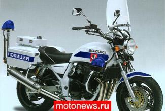 Московские мотополицейские пересядут на Suzuki?