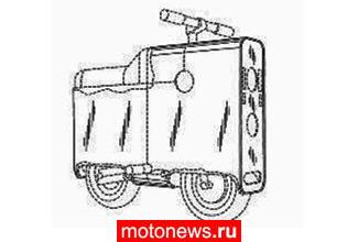 Портативный мотоцикл-коробочка