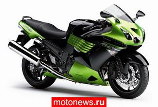 ...источникам, обнародовать официальные фото новой версии своего большого мотоцикла ZZ-R1400.