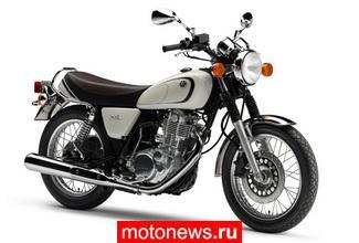 Yamaha SR400 образца 2012 модельного года